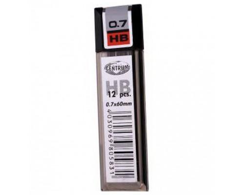 Грифели для карандаша 0,7*60 мм НВ 12 штук