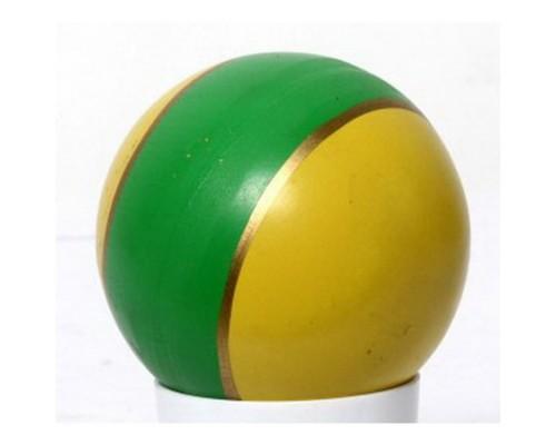 Мяч 75мм лакированный с-19ЛП