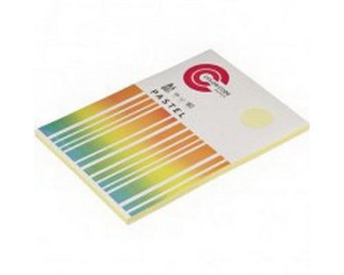 Бумага А4 100 листов COLOR CODE PASTEL, п листов 80г/м2, желтая БЕЗ СКИДКИ