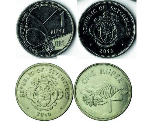БЕЗ СКИДКИ Монета 1 рупия Сейшелы 2010-2016 ТОП