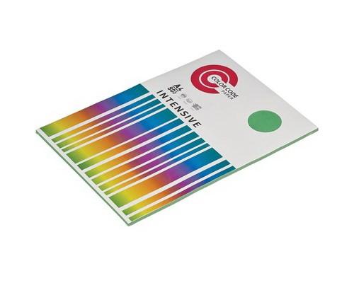 Бумага офисная A4 50 листов COLOR CODE пл. 80 г/м2,(зеленая интенсив) БЕЗ СКИДКИ