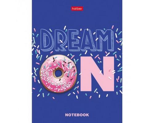 Бизнес-блокнот А6 48 листов (твердая обложка) В точечку Dream ON-