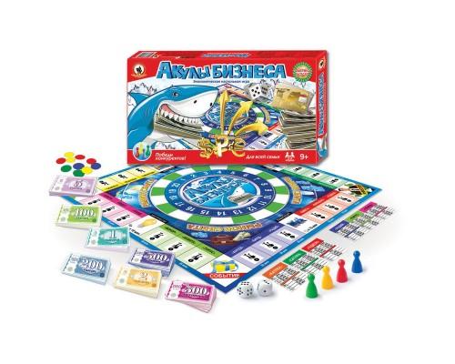 Экономическая настольная игра Акулы бизнеса 3516