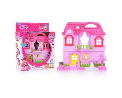 Домик для куклы с мебелью 4495