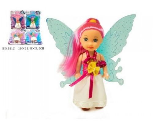 Кукла 3.5 с крыльями и цветными волосами 31514