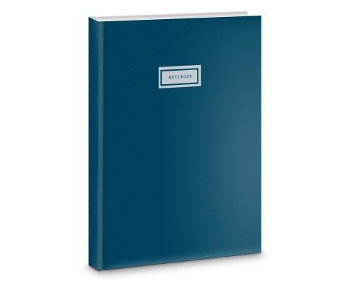 Книга для записей А4 100 листов Синяя классика