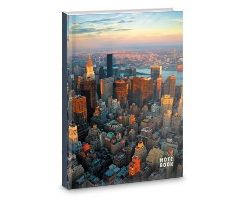 Книга для записей А4 100 листов Над городом