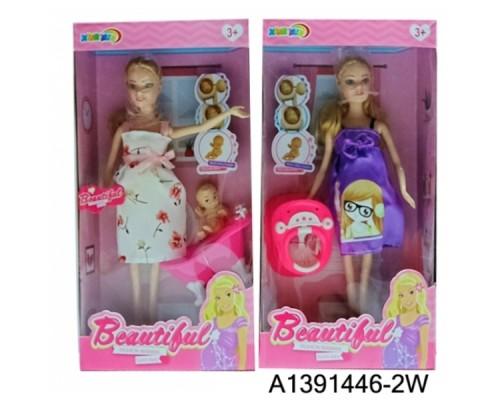 Кукла беременная с аксесс.A1391446-2W