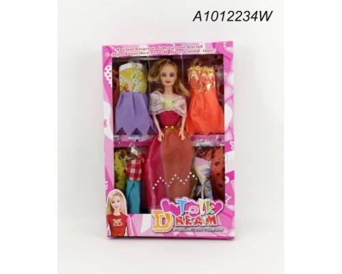 Кукла 29см с набором одежды в кор.A1012234W
